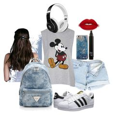 Outfit #5 by caitbury on Polyvore featuring Topshop, adidas Originals and Beats by Dr. Dre