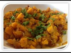 Butternut Braised. Learn to make this simply dish.  By www.proudlyindian.co.za
