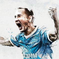 FC Zenit / Illustrations by Florian NICOLLE, via Behance