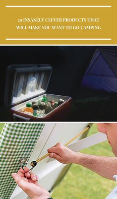 Outdoor Equipment: 29 Insanely Clever Products That Will Make You Want To Go Camping.  #equipments  #outdoorequipments #outdoorliving #outdoorpatio #outdoortech #outdoorideas #outdoorideasdiy #outdoor camping equipment 29 Insanely Clever Products That Will Make You Want To Go Camping