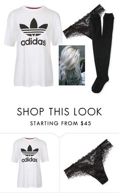 """""""Untitled #1958"""" by aurorazoejadefleurbiancasarah ❤ liked on Polyvore featuring Topshop, Lise Charmel and Aéropostale"""