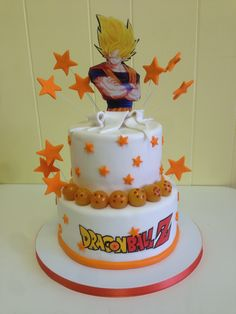 Dragonball Z cake by The Cake Lady in Fort Pierce Florida