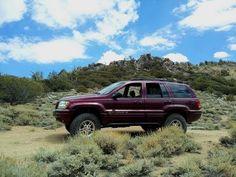 Death Valley Jeep Grand Cherokee (WJ)