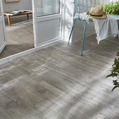 Carrelage terrasse gris 15 x 60,5 cm Gargano - CASTORAMA 19,90 €/m2