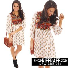 BALLOON FESTIVAL TUNIC DRESS