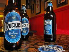 Ruckus Beer Label by Colm O Connor, via Behance