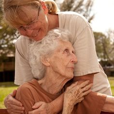 What a powerful picture.  One of the toughest roles to live is to care for declining parents health.  Strong family ties and support is the best for the aging.  The aging parents who have the strong support and advocacy of their children are the one's in todays healthcare world age with dignity and peace in their hearts.  I encourage all daughters and sons to take charge in their parents health when they are no longer able to.