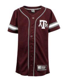 c789eecd0164 Texas A M Aggies Colosseum Youth Baseball Jersey - BASEBALL - SPECIAL Aggie  Baseball