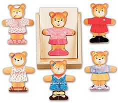 Melissa and Doug Bear Dress-Up *** This is an Amazon Affiliate link. Find out more about the great product at the image link.