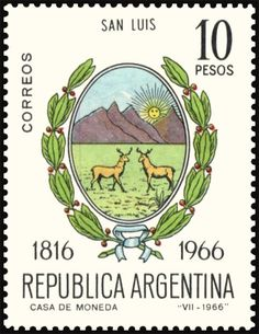 San Luis Declaration Of Independence, Mail Art, Stamp Collecting, Postage Stamps, Mood, Animal, Pretty Letters, Venezuela, Declaration Of Independence Date