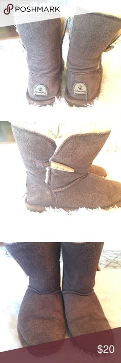 c696941f2c17 Shop Kids  BearPaw Brown Tan size Boots at a discounted price at Poshmark.