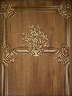 trompe-loeil-panelling Stained Concrete, Concrete Floors, Gypsum Decoration, Interior Painting, Panelling, Marquetry, Grills, Rococo, Gates