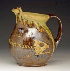 Bruce Gholson of Bulldog Pottery Seagrove, NC
