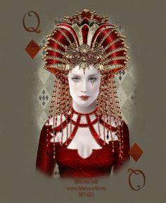 Queen of Diamonds ~ Maxine Gadd