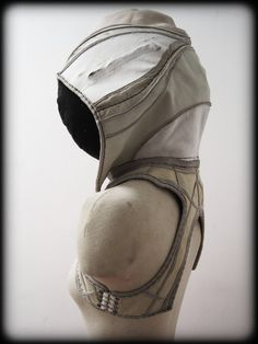White Anchor and Hood Holster with Pockets by ahniradvanyi on Etsy, $235.00