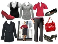 These are some great color combinations for wear to work outfits