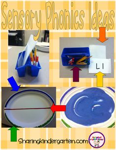 Ideas for Sensory Phonics... it is a work in progress!