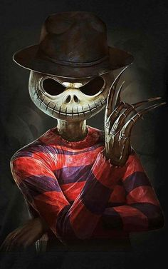 A Nightmare on Elm Street before Christmas