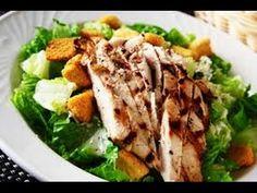 """Guarda """"Ricetta estiva insalata caesar ,Caesar salad recipe summer,César recette de salade d'été,凱撒沙拉夏季食譜"""" su YouTube"""