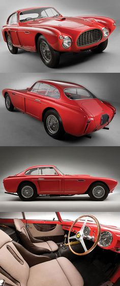 1952 Ferrari 340 Mexico Vignale Coupé #Classic #Cars