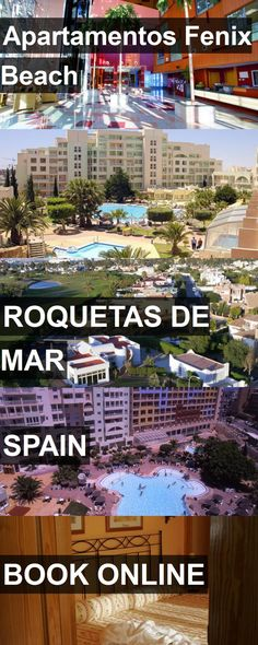 Hotel Apartamentos Fenix Beach in Roquetas de Mar, Spain. For more information, photos, reviews and best prices please follow the link. #Spain #RoquetasdeMar #ApartamentosFenixBeach #hotel #travel #vacation