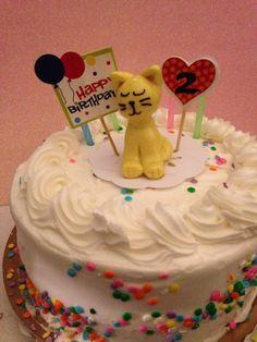 handmade cute birthday cake caketopper kids cake baking decor cat kitty cat decoration ornament clay cats miniature animals desk pets totem by KatzenKlaa on Etsy https://www.etsy.com/listing/234502570/handmade-cute-birthday-cake-caketopper