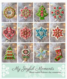 My Joyful Moments: New Ornaments by Kay Miller in My Etsy Store