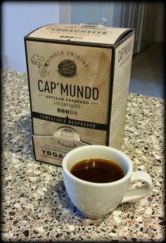 Temporary Waffle: Cap' Mundo Espresso Nespresso Yrgacheffe + GIVEAWAY! #TemporaryWaffle