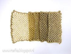 Mafke: simpele sjaal haken Diy, Crocheting, Warm, Crochet, Bricolage, Do It Yourself, Homemade, Knits, Lace Knitting