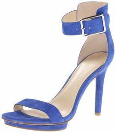 f73c9dab179c Calvin Klein Women s Vivian Suede Platform Sandal on shopstyle.com Strappy  Sandals