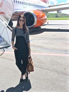 Look do dia: Airport Style - Cristiane Avellar: Vitrines pelo Mundo