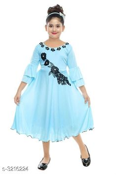 Checkout this latest Frocks & Dresses Product Name: *Cutepie Alluring Kid's Girl's Frocks* Sizes: 2-3 Years, 3-4 Years, 4-5 Years, 5-6 Years, 6-7 Years, 7-8 Years Easy Returns Available In Case Of Any Issue   Catalog Rating: ★3.8 (338)  Catalog Name: Cutepie Alluring Kid's Girl's Frocks Vol 14 CatalogID_442969 C62-SC1141 Code: 892-3216224-477