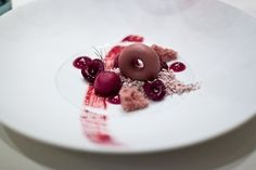 Milk chocolate and cherries, La Vie.... Love the similar colours in this