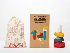 Balancing Blocks - Fort Standard for Areaware