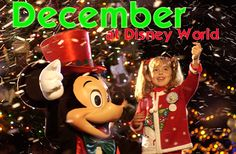 December at Disney World enjoys mild temperatures, lots of great holiday decorations, begins with light crowds and ends with the busiest crowds of the whole year. Many consider the first part of December to 1 of the best times to visit Disney World due to low crowds, lower prices, mild temps and...