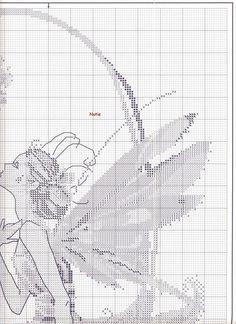 The Petal Fairy - 3/7 Solo Patrones Punto Cruz (pág. 385) | Aprender manualidades es facilisimo.com