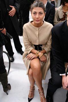 Style icon: Giovanna Battaglia #fashion #itgirl