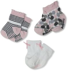 Robeez Baby-Girls Newborn 3 Pack Modern Dots Robeez. $6.00. The cute motifs and pattern makes robeez fun for everyday wear. Machine Wash. Cotton socks made with robeez themed designs for babies and toddlers. 75% Cotton/22% Nylon/3% Spandex. Perfect for gift giving and baby showers. Kick proof ankle ensures socks stay on little feet. Skid proof sole