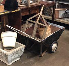 Garden Cart  Fern Perfect  $28  Vintage Affection Dealer #1680  White Elephant Antiques 1026 N. Riverfront Blvd., Dallas, TX 75207