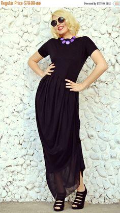 Just launched! SALE 25% OFF Black Asymmetric Maxi Dress / Extravagant Maxi Dress / Plus Size Black Dress TDK32 https://www.etsy.com/listing/181970905/sale-25-off-black-asymmetric-maxi-dress?utm_campaign=crowdfire&utm_content=crowdfire&utm_medium=social&utm_source=pinterest