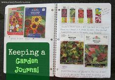 keeping a garden journal