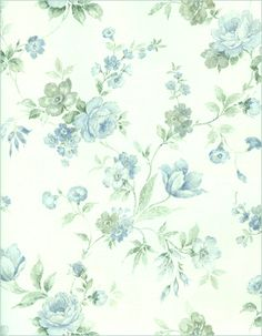 Blue and White Floral by Bnspyrd