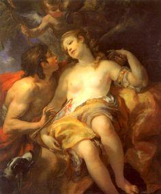 Johann Michael Rottmayr, Cephalus and Procris, 1706