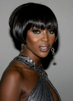 African American short hair