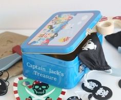 Personalised Pirate Tin Was £30.00 | Now: £21.00 http://tidd.ly/916b3f39