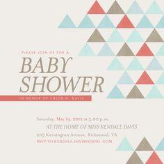Mod geometric baby shower reveal pinterest filmwisefo