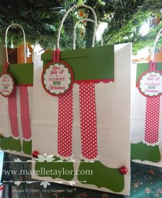 Marelle Taylor Stampin' Up! Demonstrator Sydney Australia: A Trio of Elves