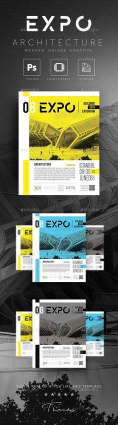 EXPO Architecture #Building #Flyer - Corporate Flyers
