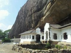 Golden Temple of Dambulla A sacred pilgrimage site for 22 centuries, this cave monastery, with its five sanctuaries, is the largest, best-preserved cave-temple complex in Sri Lanka. The Buddhist mural paintings (covering an area of 2,100 m2 ) are of particular importance, as are the 157 statues.