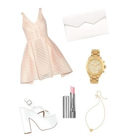"""""""Fresh and clean"""" by jenesuispasjoli ❤ liked on Polyvore featuring Posh Girl, Fabiola Pedrazzini, Michael Kors, Kate Spade, SPURR and By Terry"""
